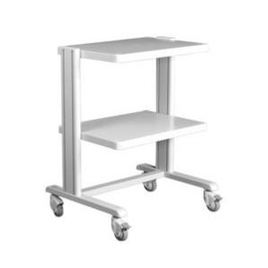 Support trolley for ECG Devices and Suction system