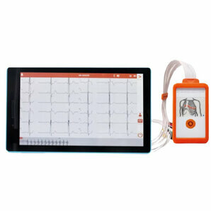 Digital ECG device Cardioline Touch ECG HD+ for Android (with 10 inch tablet)