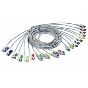 MultiLink 10 Strand Whip for General Electric ECG with Pinch Clamps