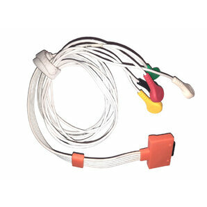 5-wires Patient Cable for Holter walk400h or ClickHolter NG Cardioline